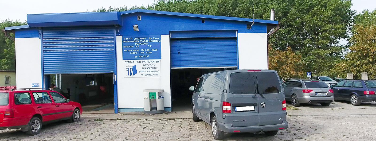 Przeglady techniczne pojazdów mechanicznych, TECHMOT